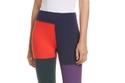 Tory Sport color-block patchwork leggings بـ158 دولارا