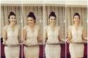 صور فستان دينيز بايسال من تصميم زينب أردوغان