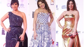 إطلالات النجمات في مهرجان أسوان: جومانا مراد بفستان مكشوف صدم الجمهور