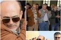 24 صورة من جنازة زوجة محمد صبحي والظهور الأول لابنته