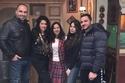 أصدقاء إيمي سمير غانم حرصوا على الاحتفال بعيد ميلادها في الكواليس