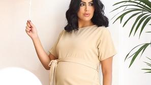 شاهدوا دانة الطويرش تكشف معاناتها في آخر أيام الحمل وتعلن موعد ولادتها