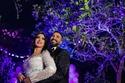 سمية الخشاب وأحمد سعد في حفل عقد القران