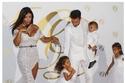 سيسك فابريغاس وعروسه اللبنانية دانييلا سمعان وأطفالهما