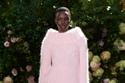 إطلالة باللون الوردي مع كنزة من الموهير وشورت من مجموعة Michael Kors