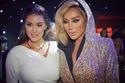 مايا ديا مع ياسمين صبري من حفل كارتييه في دبي