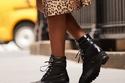 الأحذية العسكرية Combat Boots موضة شتاء 2020 : شاهدي كيف تنسقيها