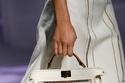 حقيبة بيضاء كلاسيكية من Fendi