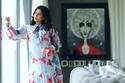 إطلالات حمل دانة الطويرش: فستان مزين بالفراشات