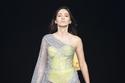 فستان من قماش الشيفون من تصميم رامي قاضي
