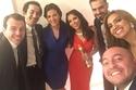 دنيا سمير غانم تلفت الأنظار بنحافتها في حفل توزيع جوائز السينما العربية