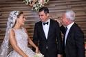صور زفاف ملكي للنائب اللبناني طوني فرنجية: وفستان العروس صممه إيلي صعب