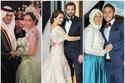 صور مشاهير يحتفلون بعيد الحب للمرة الأولى بعد الزواج