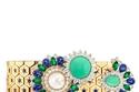 ساعة مرصعة بالزمرد من Van Cleef & Arpels Ludo secret watch