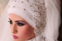 موديلات طرحات حجاب لعروس عام 2016
