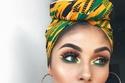في اليوم الوطني السعودي: مكياج عيون سموكي أخضر بدرجات خلابة