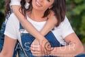 داليا البحيري مع ابنتها قسمت