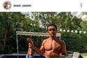 اسر ياسين يسخر من محمد صلاح بعد صوره مع أسماك التونة