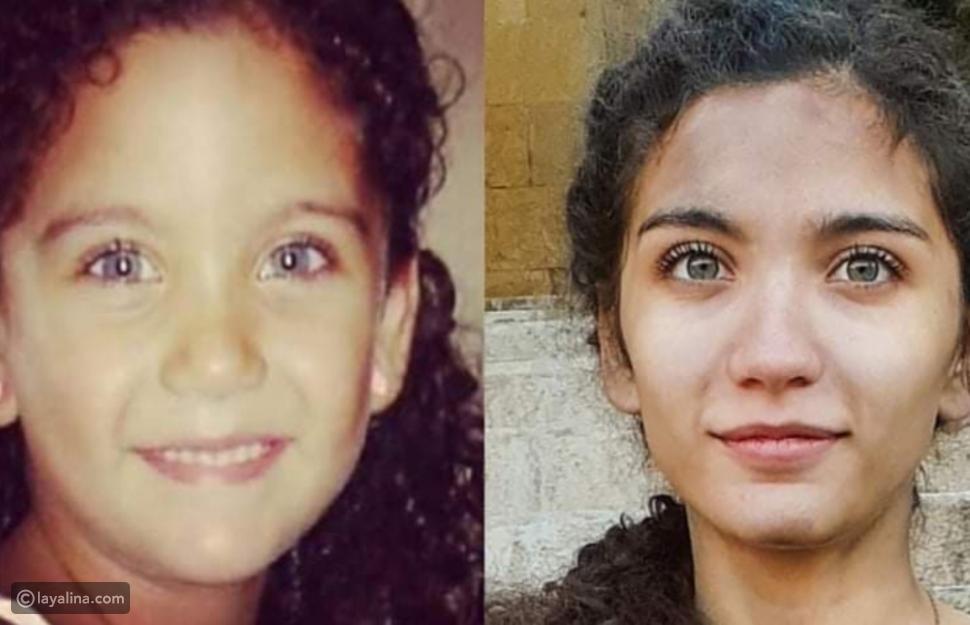 نهال نور وهي طفلة والآن