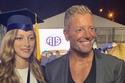 تامر هجرس يحتفل بتخرج ابنته الكبرى