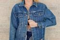 Vintage Denim Jacket جاكيت جينز تقليدي