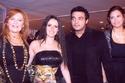 عمرو محمود ياسين وزوجته آيات أباظة