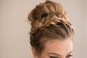 تسريحة رفع الشعر للعروس في العيد