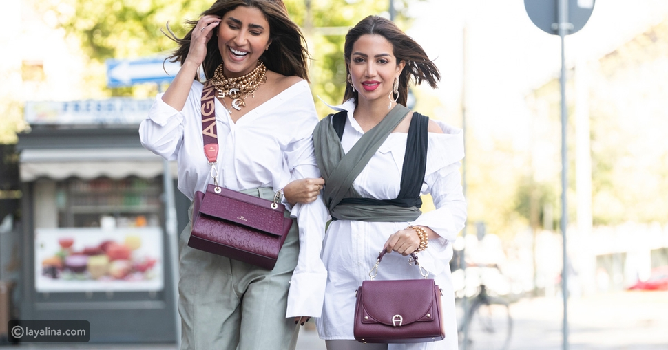 حقيبة CAROL S BAG من AIGNER كنز لكل امرأة: قدميها لست الحبايب
