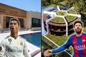 ما رأيك في منزل ميسي؟ أغلى منازل مشاهير كرة القدم حول العالم