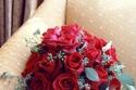 مسكات عروس حمراء في يوم الحب