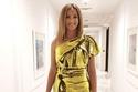 تعرفي على السعر الباهظ لفستان دنيا سمير غانم الذهبي القصير