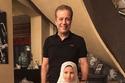 شريف منير مع حفيدته