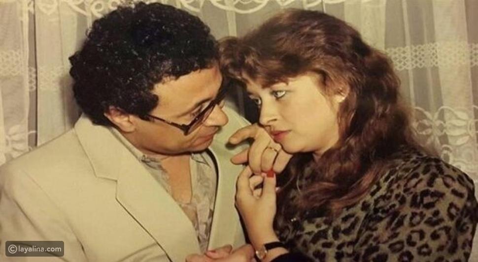 فايزة كمال وزوجها مراد منير