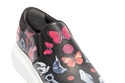 """حذاء أسود مطبع من """"Alexander McQueen"""""""