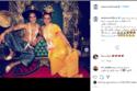 أحمد داوود يحتفل بعيد زواجه من علا رشدي