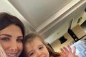 صورة نانسي مع أبنتها ليا