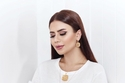 ديما الأسدي بمكياج ناعم