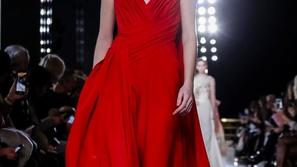 فساتين سهرة 2019 باللون الأحمر من أشهر دور الأزياء