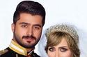 لدكتورة خلود وزوجها مودل أمين يقلدان الأميرة ديانا والأمير تشارلز