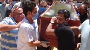 صور جنازة حسن حسني...الكاميرا ترصد بكاء سعد الصغير