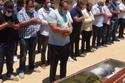 صور جنازة حسن حسني...الكاميرا ترصد بكاء سعد الصغير الحار