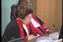 تغريد حكمت أول قاضية أردنية في القضاء الجنائي الدولي