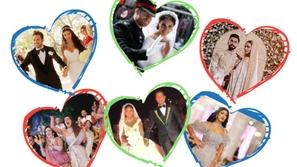 أعراس مشاهير برتبة ملكية.. تعرفوا على أكثر حفلات الزفاف بذخاً في 2018