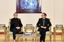 السيدة انتصار السيسي تقدم واجب العزاء لأسرة الرئيس الراحل حسني مبارك