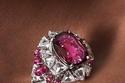 خاتم مرصع بالياقوت والألماس من Cartier The Phaan ring