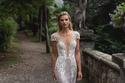 فساتين زفاف فضية بسيطة