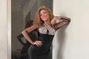 ميريام فارس بفستان أسود بحفلات عيد الأضحى 2021