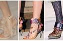 الأحذية من أسبوع لندن للموضة منها الجميل ومنها القبيح وبعضها لا يمكن ارتدائه!