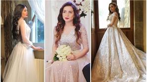 لعروس الصيف: استلهمي إطلالتك من فساتين زفاف نجمات مسلسلات رمضان 2019