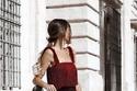 فساتين الشراشيب باللون الأحمر إطلالتك المثالية في عيد الحب